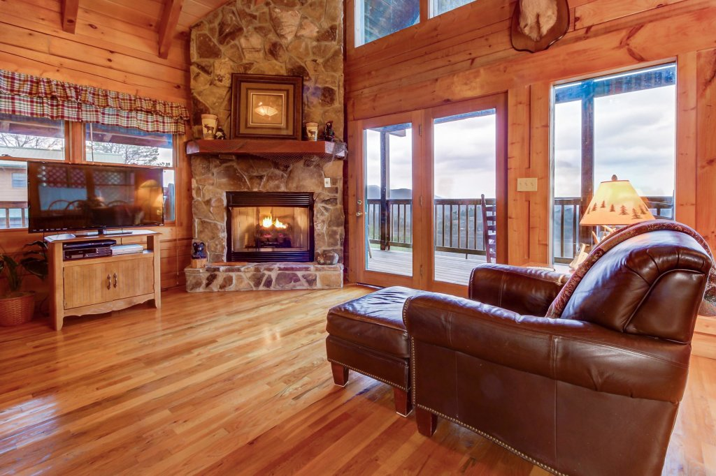 Photo of a Sevierville Cabin named A Point Of View Cabin - This is the twelfth photo in the set.