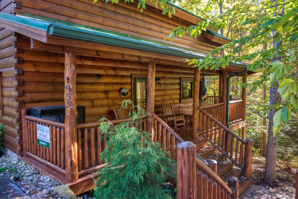 Photo of a Sevierville Cabin named Serenity Cabin - This is the second photo in the set.