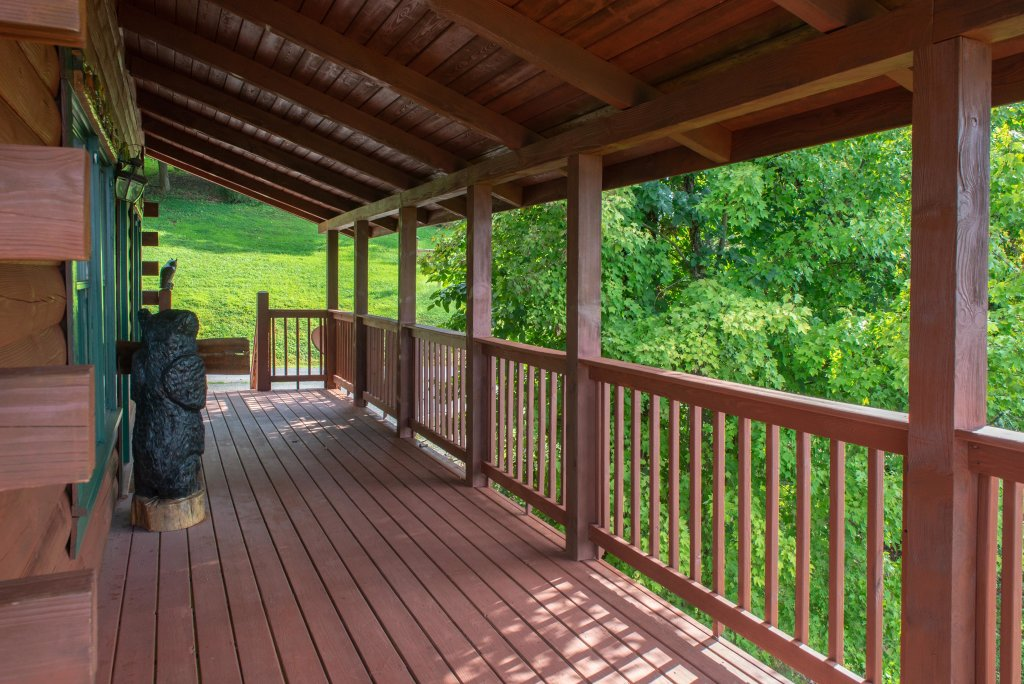 Photo of a Sevierville Cabin named A Point Of View Cabin - This is the forty-first photo in the set.