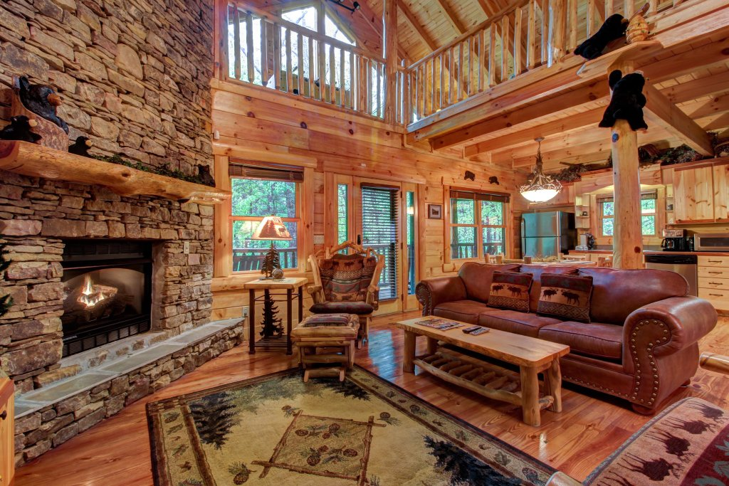 Photo of a Sevierville Cabin named Serenity Cabin - This is the thirty-second photo in the set.