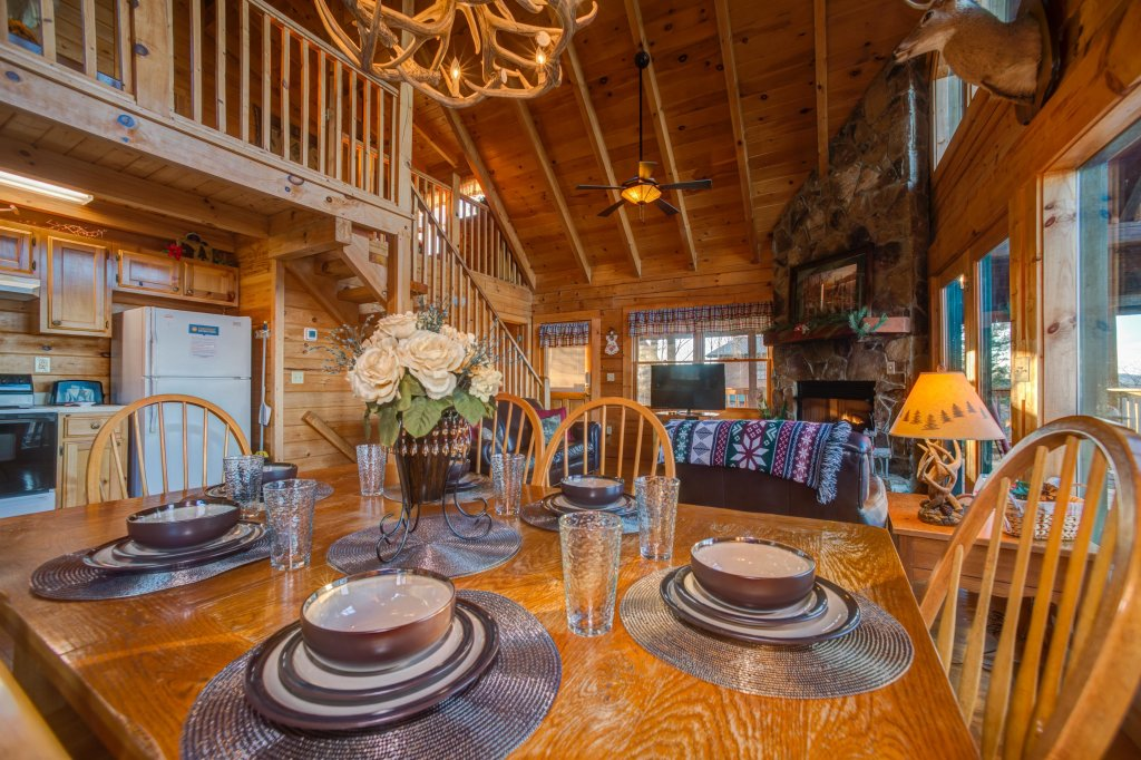 Photo of a Sevierville Cabin named A Point Of View Cabin - This is the thirteenth photo in the set.