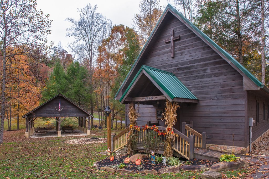 Photo of a Sevierville Cabin named Hogwartz Of The Smokies Cabin - This is the forty-eighth photo in the set.