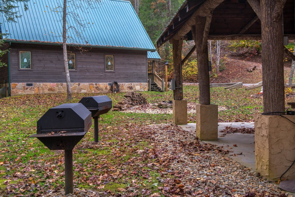 Photo of a Sevierville Cabin named Hogwartz Of The Smokies Cabin - This is the forty-seventh photo in the set.