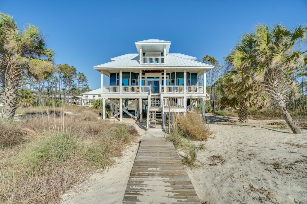 Photo of a Cape San Blas House named Three Palms - This is the forty-ninth photo in the set.