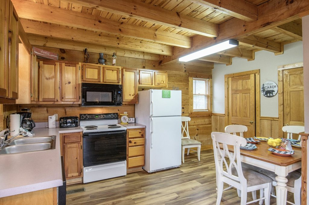 Photo of a Pigeon Forge Cabin named  Savage Loft (was Sweet Serenity) - This is the fourth photo in the set.