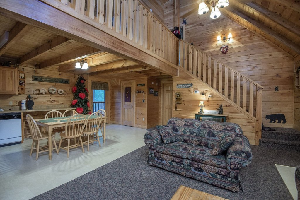 Photo of a Pigeon Forge Cabin named  The Getaway - This is the eighth photo in the set.