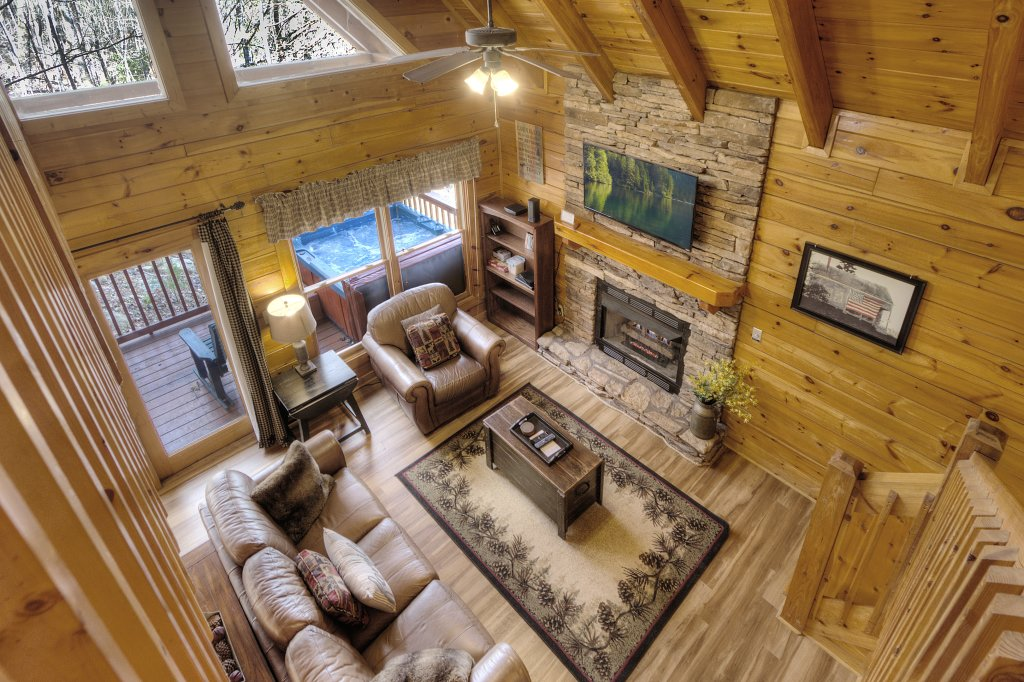 Photo of a Pigeon Forge Cabin named Sunrise To Stardust - This is the twenty-second photo in the set.