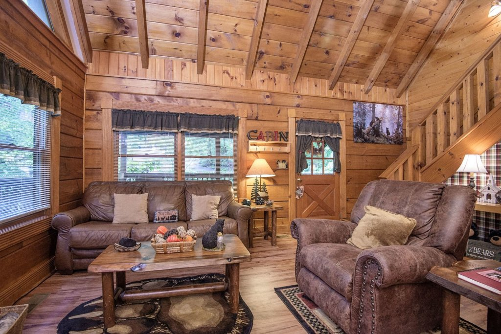 Photo of a Pigeon Forge Cabin named  Natures Grace Retreat - This is the fourth photo in the set.