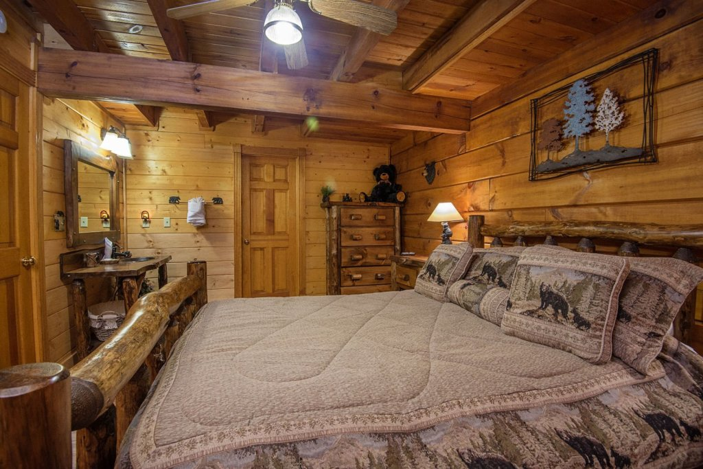 Photo of a Pigeon Forge Cabin named  Natures Grace Retreat - This is the fifteenth photo in the set.