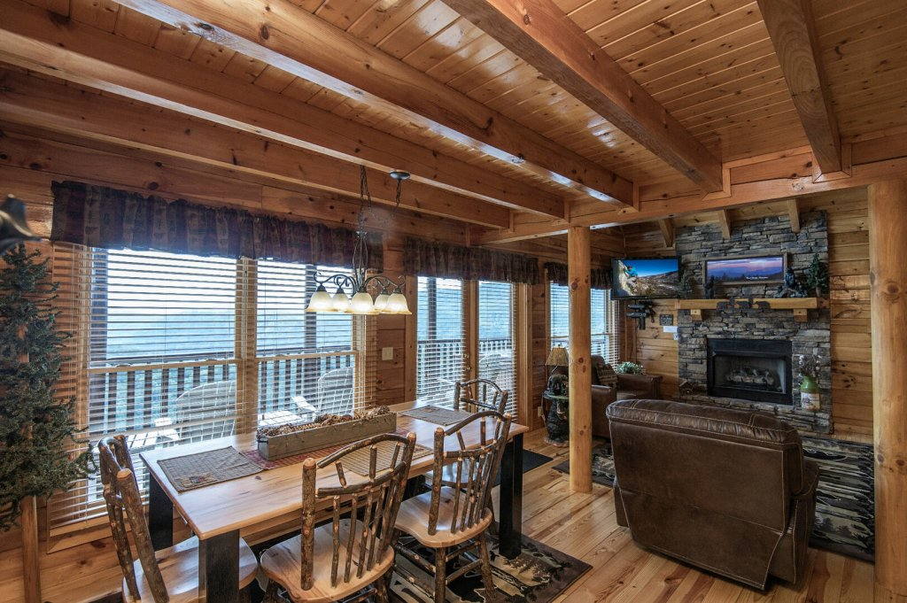 Photo of a Pigeon Forge Cabin named Majestic Mountain View - This is the eighth photo in the set.