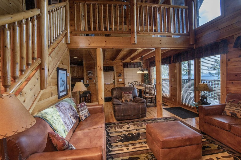 Photo of a Pigeon Forge Cabin named Majestic Mountain View - This is the sixth photo in the set.