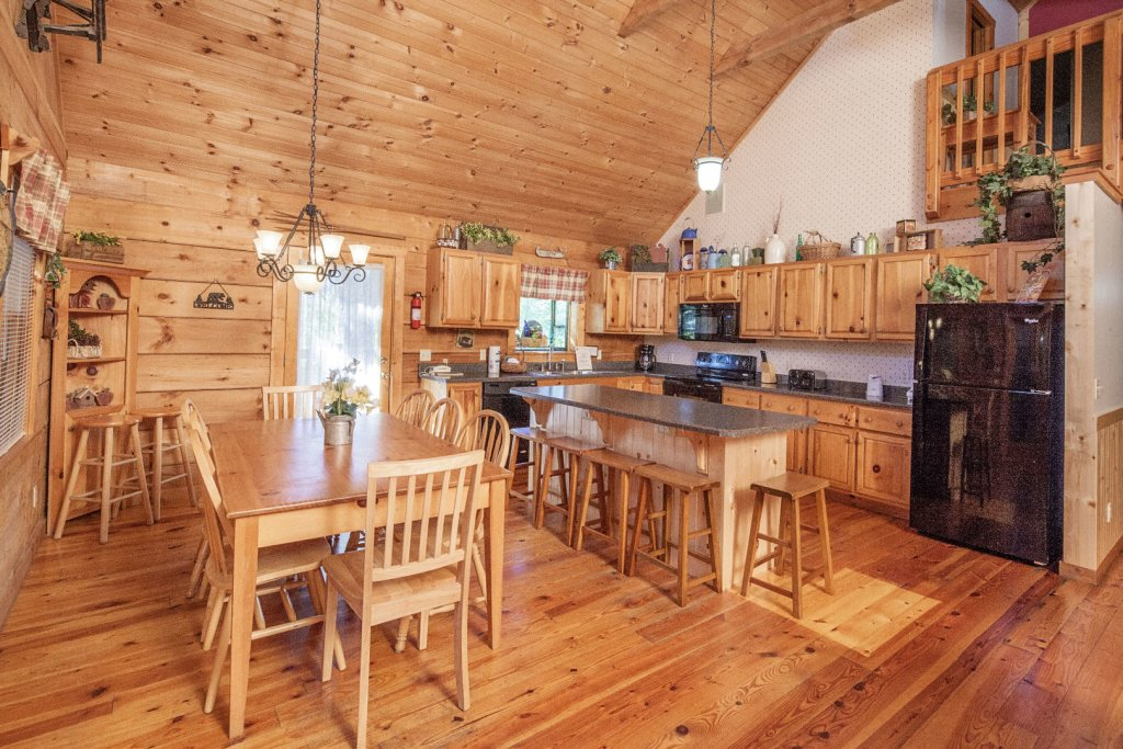 Photo of a Pigeon Forge Cabin named  Best Of Both Worlds - This is the eighth photo in the set.