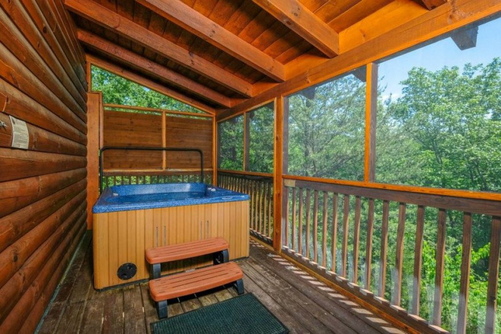 Photo of a Sevierville Cabin named  Heavenly View - This is the seventeenth photo in the set.