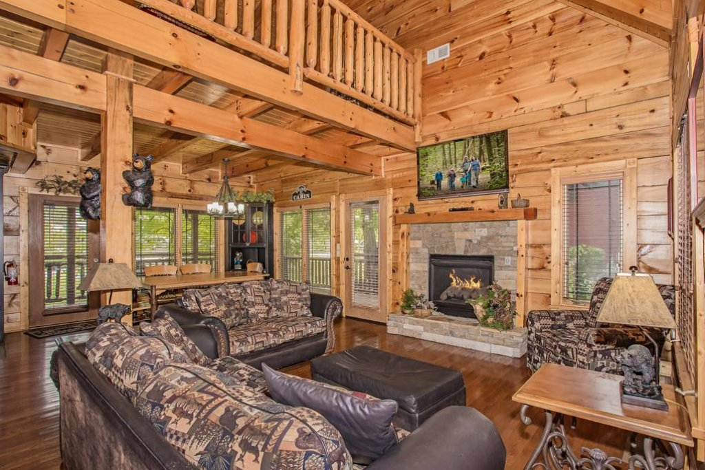 Photo of a Pigeon Forge Cabin named River's Edge - This is the third photo in the set.