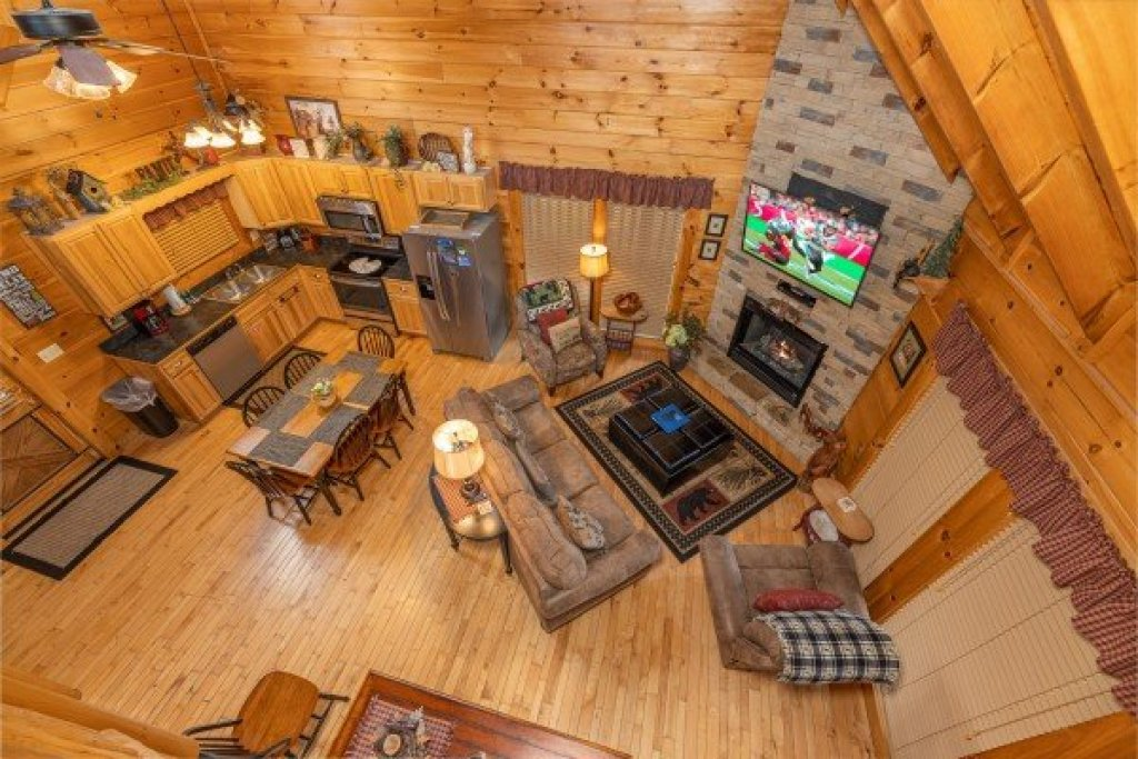 Photo of a Sevierville Cabin named Absolutely Wonderful - This is the twenty-first photo in the set.