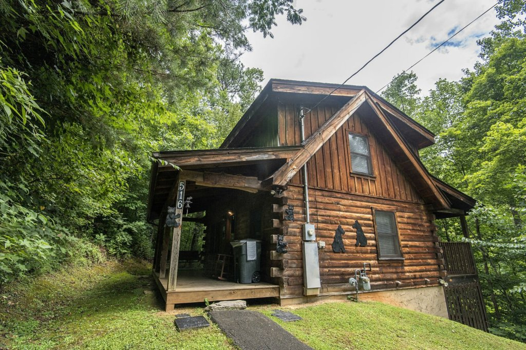 Photo of a Pigeon Forge Cabin named Mystic Mountain - This is the twenty-seventh photo in the set.