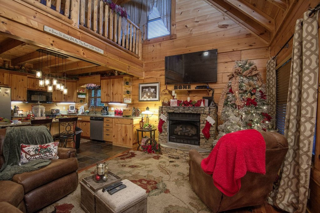 Photo of a Sevierville Cabin named Liam's Retreat - This is the fifth photo in the set.