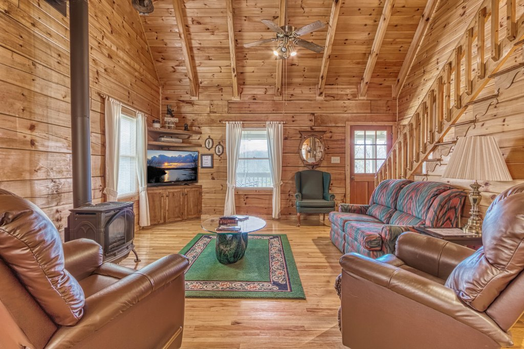 Photo of a Sevierville Cabin named Evening Shade #129 - This is the third photo in the set.