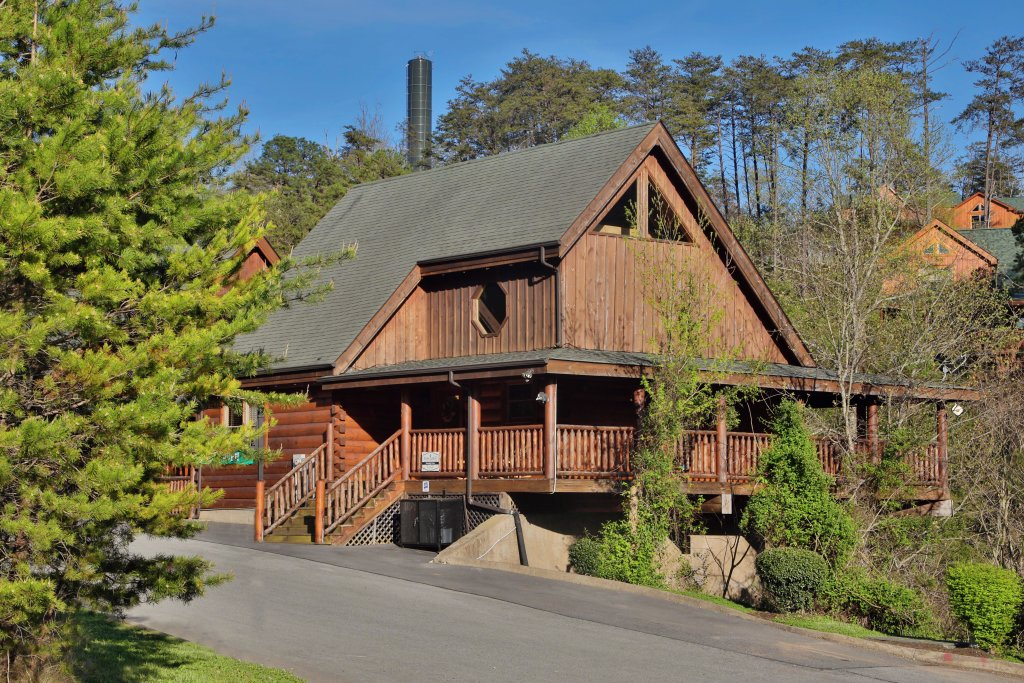 Photo of a Sevierville Cabin named Amazing Grace - This is the twenty-second photo in the set.