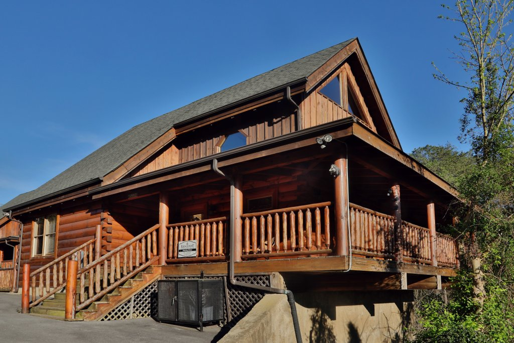 Photo of a Sevierville Cabin named Amazing Grace - This is the twenty-fifth photo in the set.
