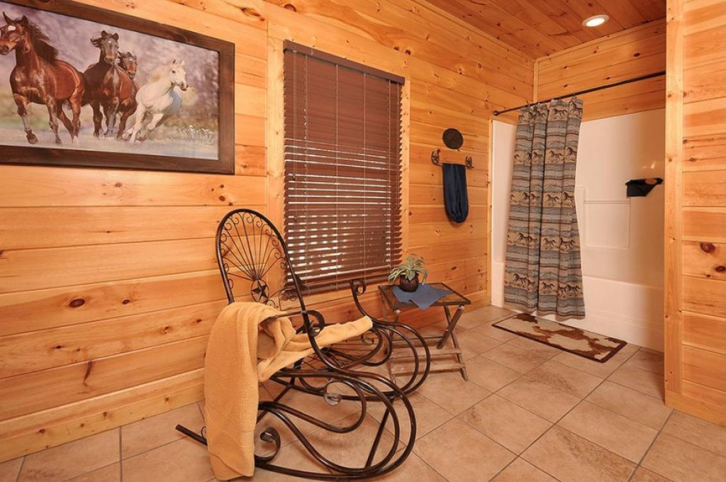 Photo of a Pigeon Forge Cabin named Dancing Bear Lodge - This is the ninth photo in the set.