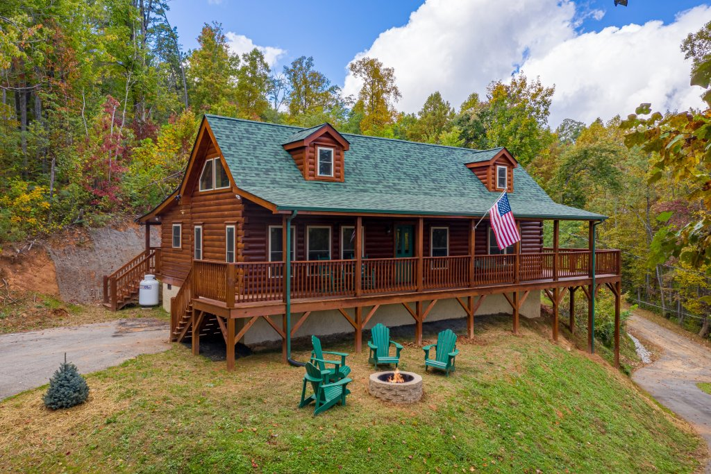 Photo of a Gatlinburg Cabin named Smoky Retreat - This is the thirty-first photo in the set.