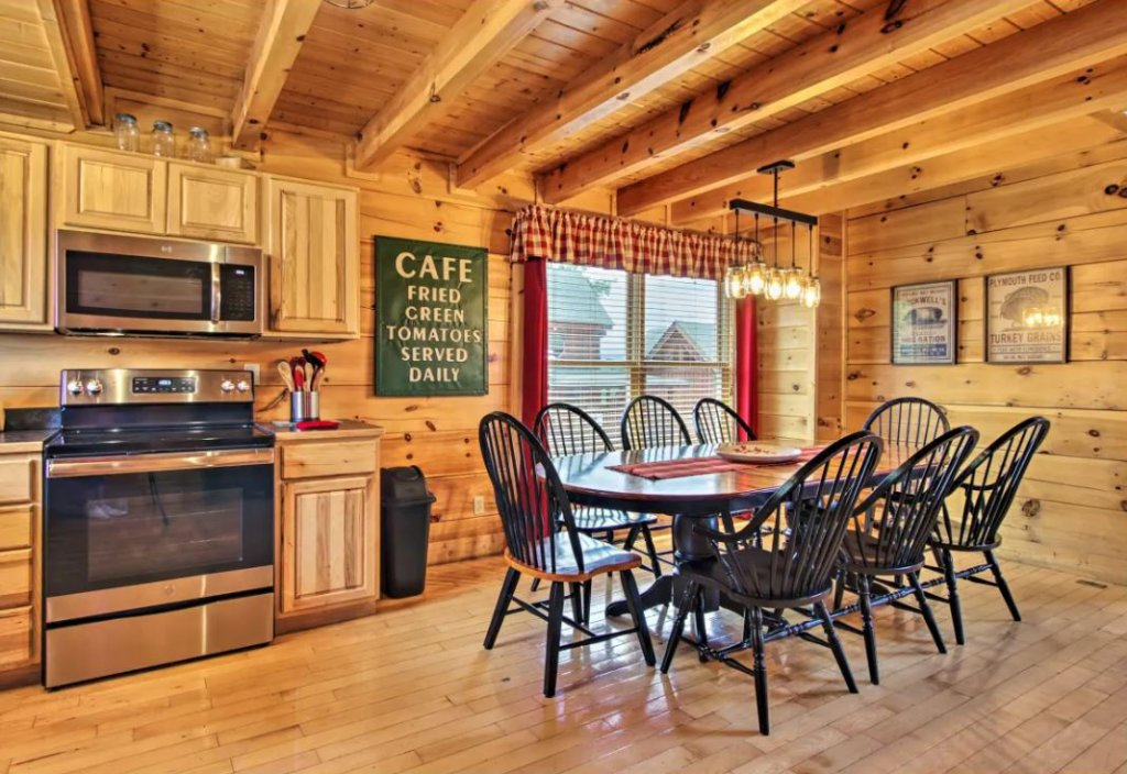Photo of a Sevierville Cabin named Tennessee Star Lodge - This is the twenty-seventh photo in the set.