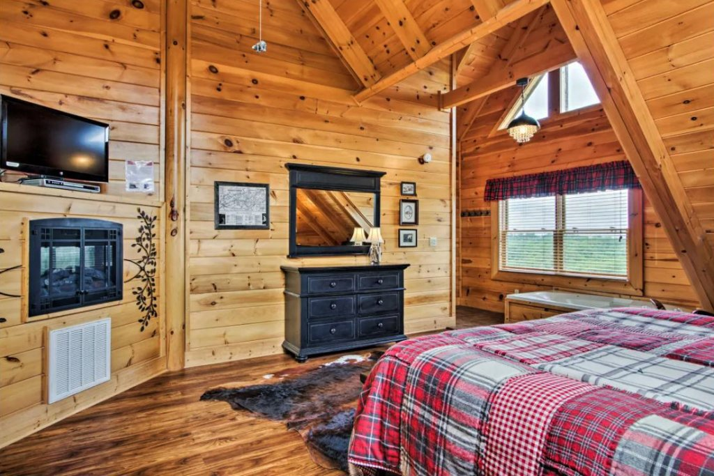 Photo of a Sevierville Cabin named Tennessee Star Lodge - This is the ninth photo in the set.