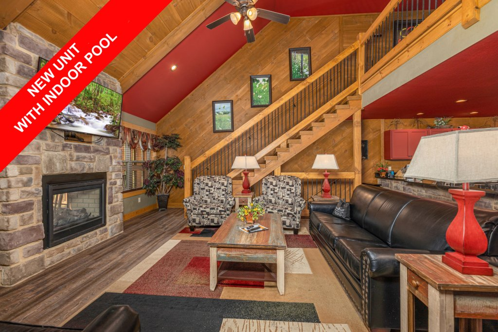 Photo of a Gatlinburg Cabin named Splash Mansion - This is the first photo in the set.
