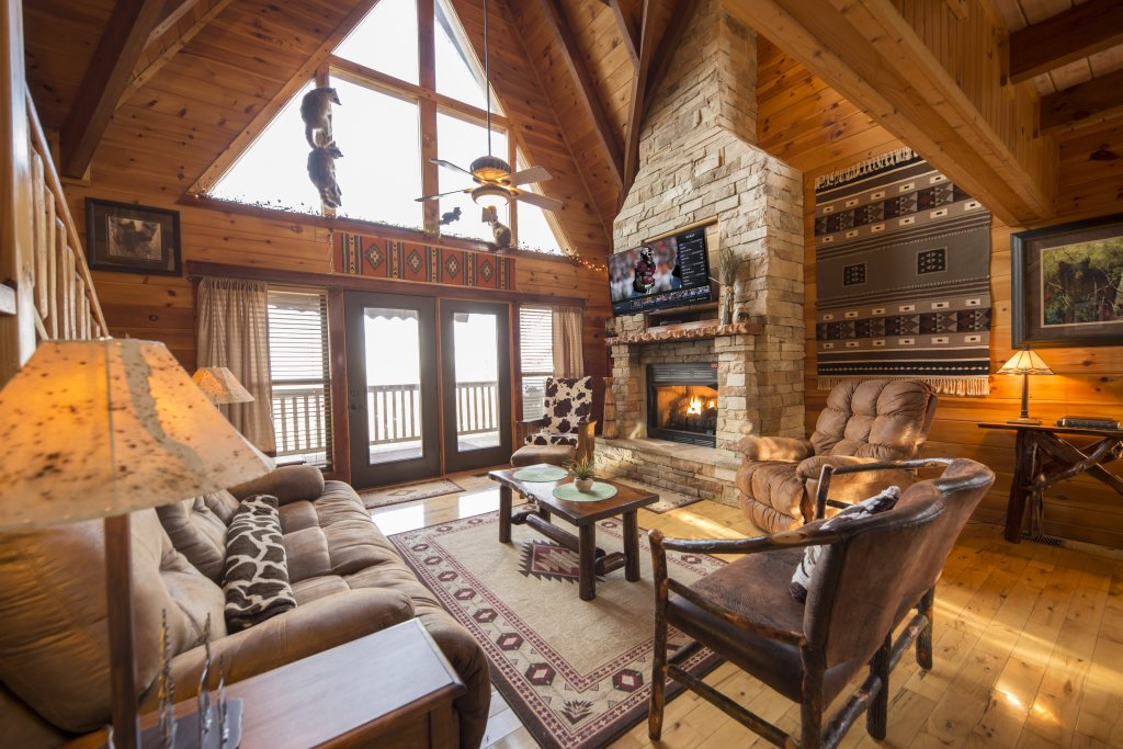 Photo of a Sevierville Cabin named Psalm 2705 - This is the third photo in the set.