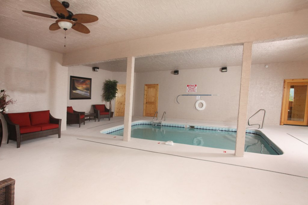 Photo of a Sevierville Cabin named Serenity Mountain Pool Lodge - This is the twenty-third photo in the set.