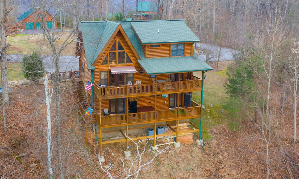 Photo of a Sevierville Cabin named Psalm 2705 - This is the thirtieth photo in the set.