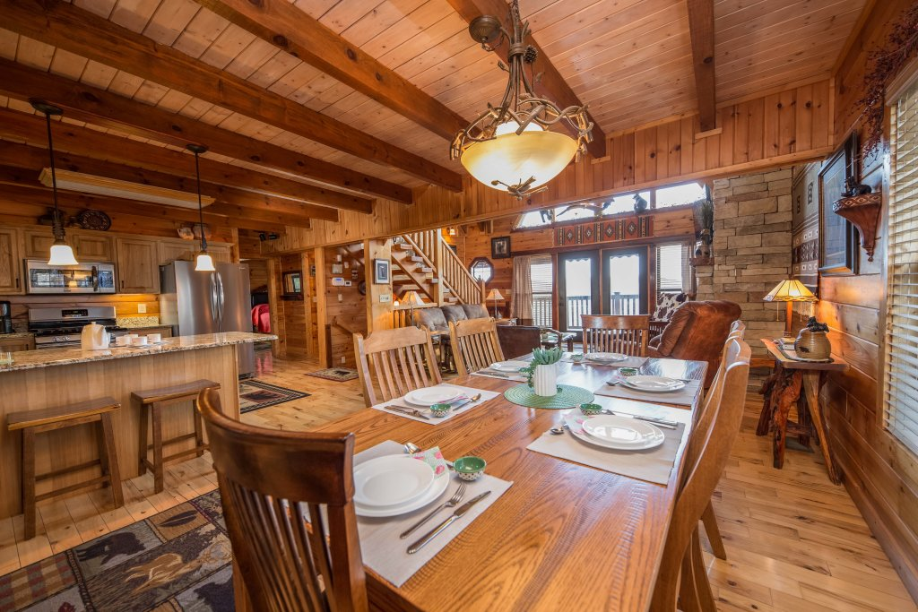 Photo of a Sevierville Cabin named Psalm 2705 - This is the twenty-sixth photo in the set.