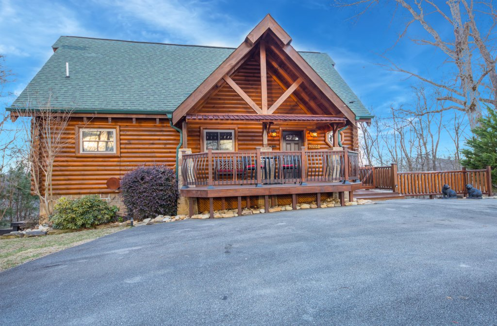 Photo of a Sevierville Cabin named Psalm 2705 - This is the thirty-fifth photo in the set.