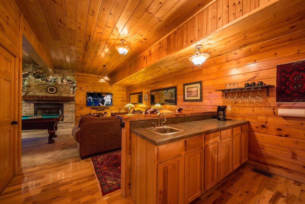 Photo of a Sevierville Cabin named Psalm 2705 - This is the twenty-fifth photo in the set.