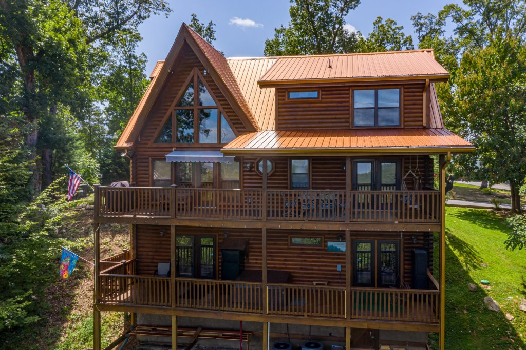 Photo of a Sevierville Cabin named Psalm 2705 - This is the forty-third photo in the set.