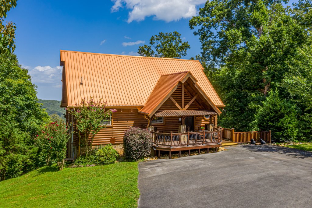Photo of a Sevierville Cabin named Psalm 2705 - This is the forty-fourth photo in the set.