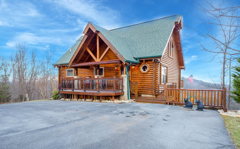 Photo of a Sevierville Cabin named Psalm 2705 - This is the thirty-fourth photo in the set.