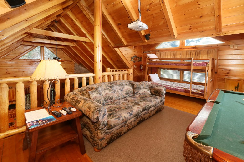 Photo of a Sevierville Cabin named Mountain Fun - This is the tenth photo in the set.