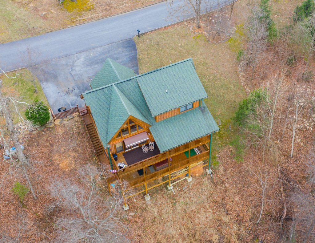 Photo of a Sevierville Cabin named Psalm 2705 - This is the thirty-first photo in the set.