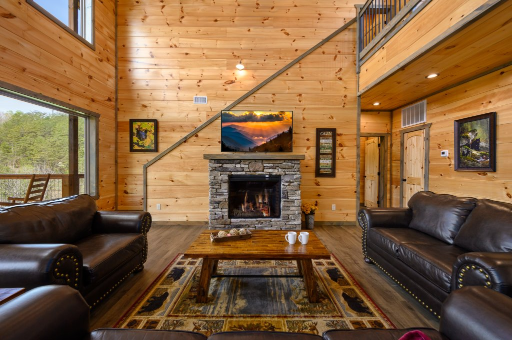 Photo of a Pigeon Forge Cabin named Bear Foot Retreat - This is the fifty-sixth photo in the set.