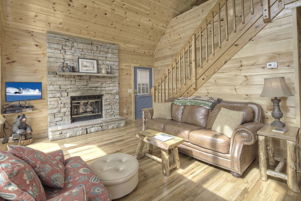 Photo of a Sevierville Cabin named Tranquility - This is the sixth photo in the set.