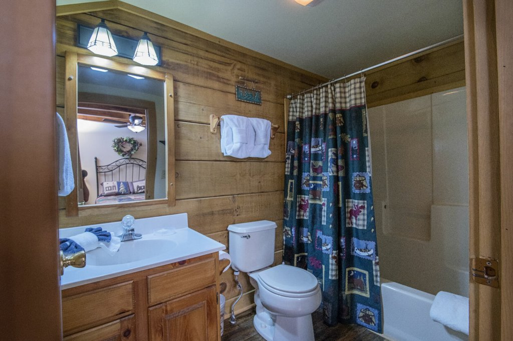 Photo of a Pigeon Forge Cabin named  Hibernation Hideaway - This is the thirty-second photo in the set.