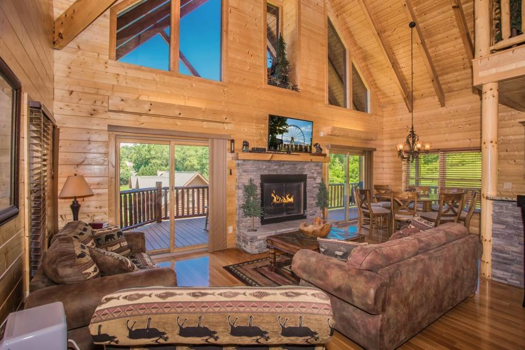 Photo of a Sevierville Cabin named Clear Valley Retreat - This is the fifth photo in the set.