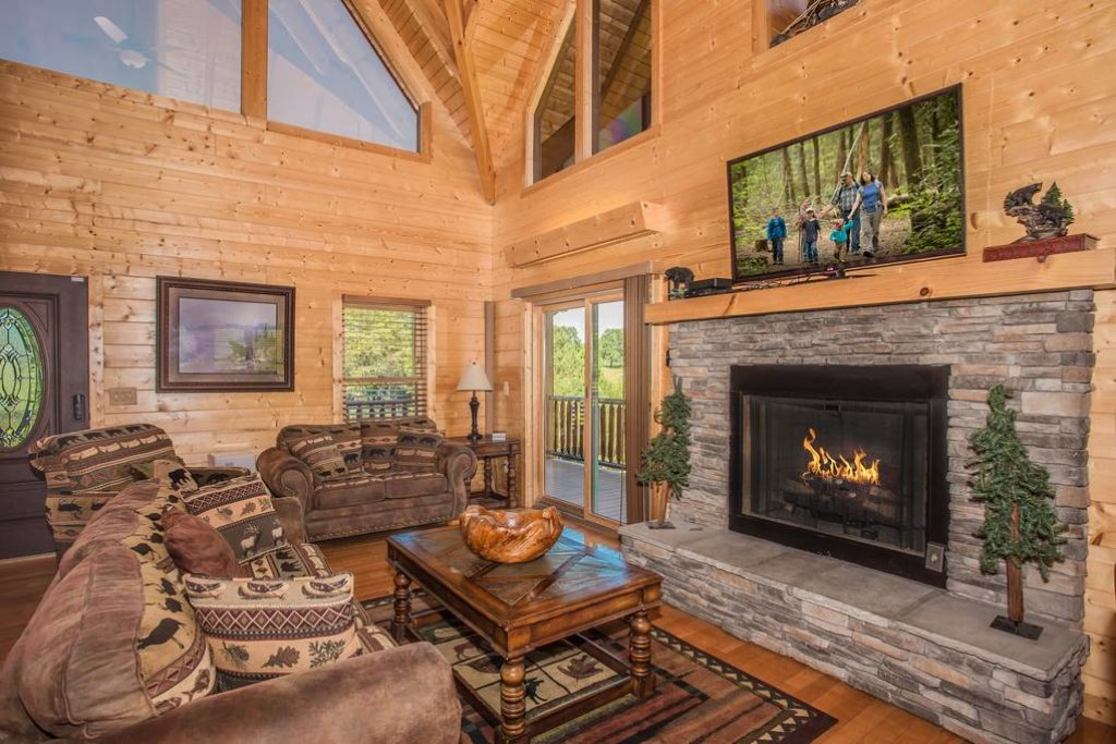 Photo of a Sevierville Cabin named Clear Valley Retreat - This is the seventh photo in the set.