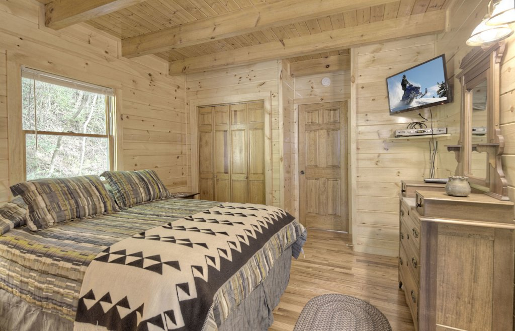 Photo of a Sevierville Cabin named Tranquility - This is the eighth photo in the set.