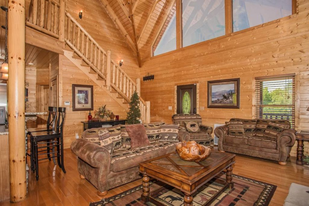 Photo of a Sevierville Cabin named Clear Valley Retreat - This is the ninth photo in the set.