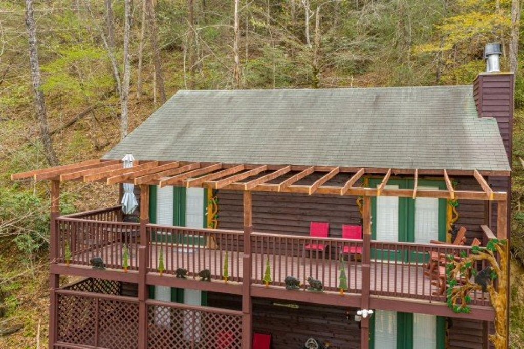 Photo of a Sevierville Cabin named Hidden Pines - This is the twenty-fourth photo in the set.