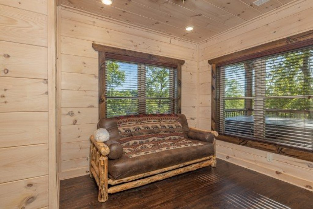 Photo of a Pigeon Forge Cabin named Smoky Mountain Chalet - This is the fourth photo in the set.