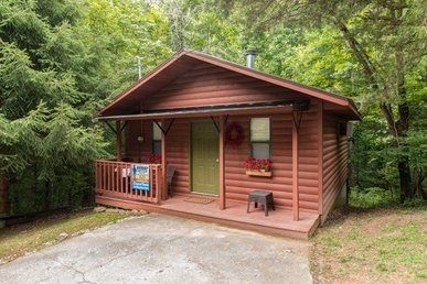 A Charming 1 Bedroom Studio Cabin With A Heart Shaped Jacuzzi And A Hot Tub.